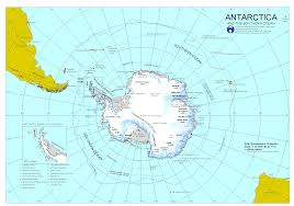 Central America And The Caribbean Physical Map by Antarctica Physical Map 2000