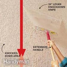 Stucco Ceiling Repair by How To Apply Knock Down Ceiling Texture Family Handyman