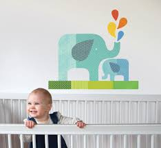 elephant baby wall decal walldecals com