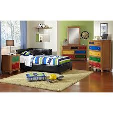 jordan twin corner bed black american signature furniture