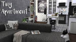 the sims 4 speed build tiny apartment cc list youtube the sims 4 speed build tiny apartment cc list
