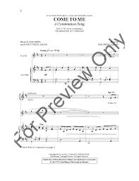Nancy Price by Come To Me Satb By Nancy Price U0026 Don Besig J W Pepper Sheet Music