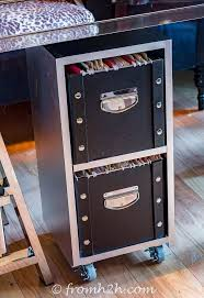 file cabinet storage ideas diy glam industrial filing cabinet hometalk