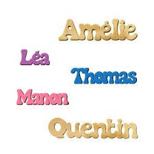 prenom en bois pour chambre un prénom en bois pour personnaliser une chambre d enfant