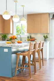 kitchen color schemes light wood cabinets the best kitchen color palettes the by roth