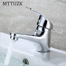 Mttuzk Wholesale Retail Deck Mount Bathroom Faucet Single Handle Bathroom Fixtures Wholesale