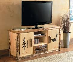 Console Table For Living Room by Inspiring Custom Wood Flat Screen Tv Console Table With Cassette