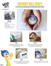 memory ball craft for kids plus other inside out activities