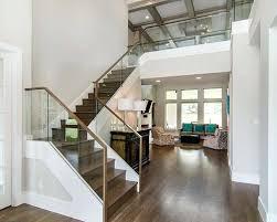 Glass Staircase Design Stair Glass Railing System Glass Stair Handrail System Steps Glass