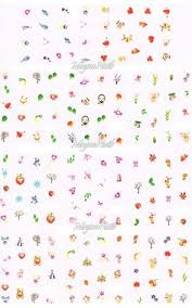 nagel design shop xl nail one stroke sticker set 1 profi nageldesign shop