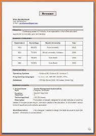 Latest Resume Format Latest Resume Format Doc Experienced Hr Resume Format Template