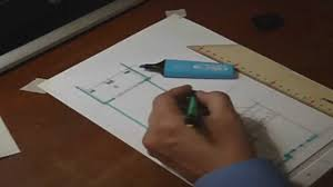 architectural floor plan sketch by hand drawing no 1 youtube