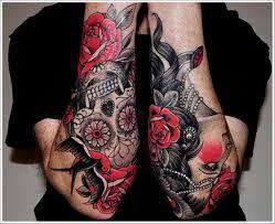 12 best skull half sleeve tattoos images on skulls