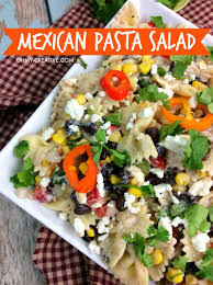 recipes with pasta mexican pasta salad recipe oh my creative