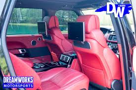 range rover pink interior autobiography range rover u2014 dreamworks motorsports