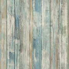 wood wallpaper roommates rmk9052wp 28 18 square feet blue distressed wood peel and