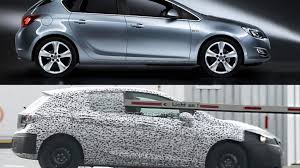 opel astra hatchback 2014 2016 opel astra spied for the first time