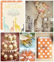 giraffe themed baby shower giraffe baby shower inspiration board themed baby showers