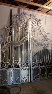 custom gates ta forged metal gates unique artistic entrace