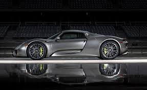 gold porsche 918 the 2015 porsche 918 spyder is the quickest road car in the world