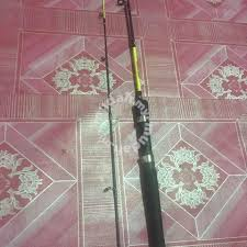 Joran Pancing Udang Galah rod mancing udang galah sports outdoors for sale in sungai