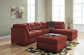 Fabric Sectional Sofas With Chaise Benchcraft Maier Sienna 2 Piece Sectional With Left Chaise