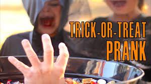 halloween trick or treat prank youtube