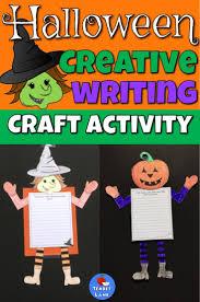 halloween creative writing craft activity creative writing