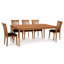 copeland sarah shaker fixed top dining table usa made