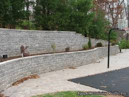 Retaining Wall Landscaping Ideas Agape Retaining Walls Inc Terrace Photo Album 1