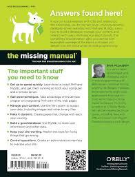 php u0026 mysql the missing manual amazon co uk brett mclaughlin
