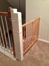 Baby Proofing Banisters Baby Gate For Stairs With Banister Photos Best Baby Gates For