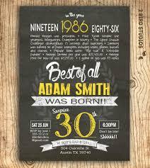 40th birthday invitations for him alanarasbach com