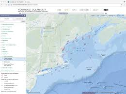 Map Of Oceans Updated Map Of Ocean Observing Buoys And Stations Northeast
