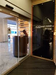 The Dining Room Review American Flagship Lounge Jfk And Flagship First Dining
