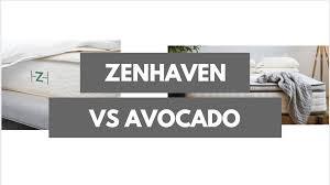Latex Vs Memory Foam Sleepopolis Zenhaven Vs Avocado Which Should You Choose