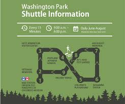 Mahoney State Park Map by Washington Park Shuttle Returns To Daily Service For Summer Map