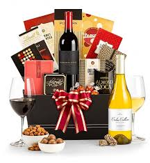 gift baskets with wine the royal treatment affordable wine gift basket