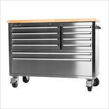 Garden Tool Storage Cabinets 48 U0027 Stainless Steel Workbench Tool Boxes Pinterest