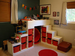Cute Bedroom Ideas With Bunk Beds Using An Ikea Trofast To Make A Loft Bed U2014 Ikea Hacker Book
