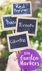 garden markers diy garden markers scattered thoughts of a crafty by