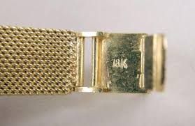 gold omega bracelet images An omega 18k yellow gold and diamond ladies covered bracelet watch jpg