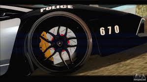 Lamborghini Murcielago Sv Interior - lamborghini murcielago lp670 sv police for gta san andreas