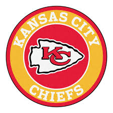 3 Round Area Rugs by City Chiefs Logo Roundel Mat 27