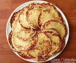 levure cuisine recette crêpes à la levure de boulanger le de cuisine et