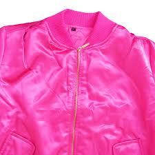 ladies new look pink pilot jacket u2013 at your door step