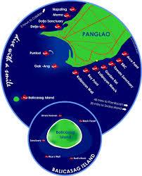 alona resort map scuba dive map in alona panglao bohol