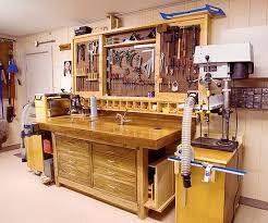Tool Bench For Garage Total Garage Makeover Wood Magazine