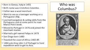 christopher columbus who was columbus born in genoa italy in