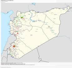 Syrian Civil War Template template syrian civil war detailed map 21 feb 2014 the